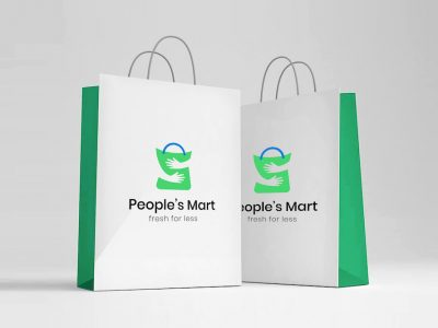 kv hudaif branding work for peoples mart